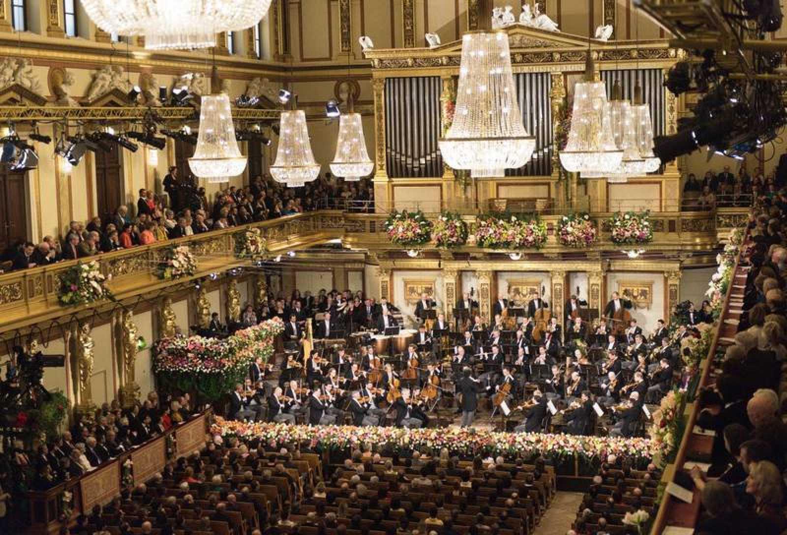 Sala Grande o Dorada del Musikverein de Viena