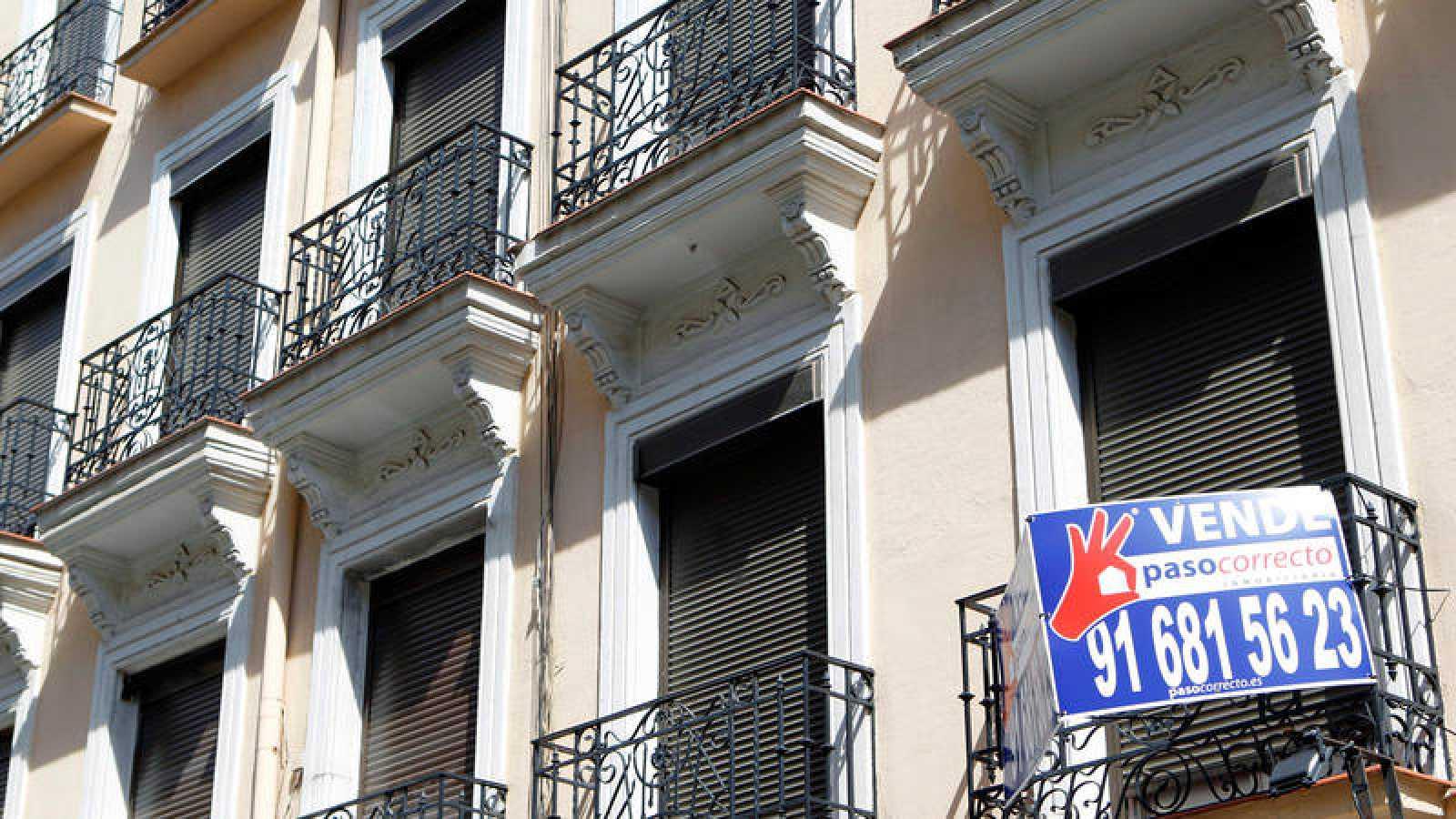 Una imagen de archivo de un piso en venta en Madrid