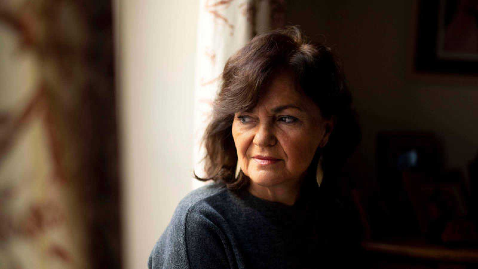 La vicepresidenta del Gobierno en funciones, Carmen Calvo, en una imagen de archivo