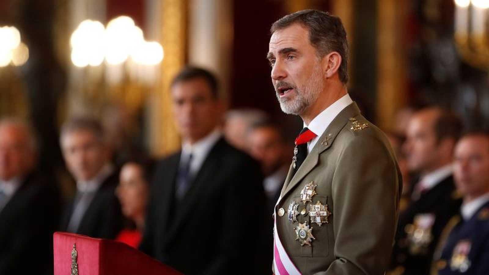 """El rey subraya la """"plena legitimidad"""" e """"independecia del Poder Judicial llama a respetar sus resoluciones"""