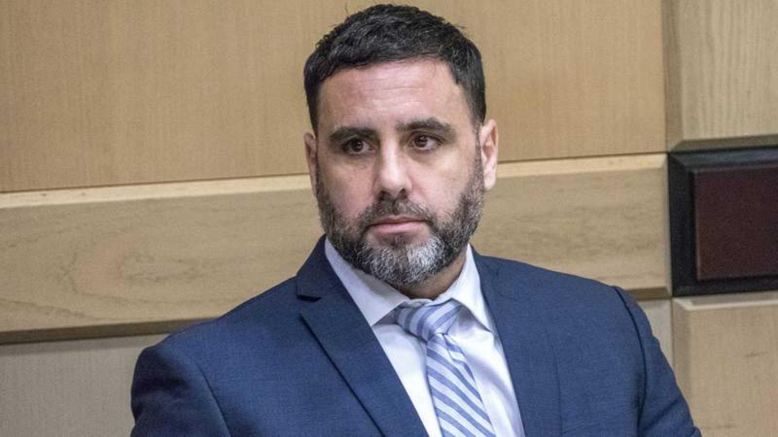 Pablo Ibar, durante su comparecencia ante el tribunal de Florida