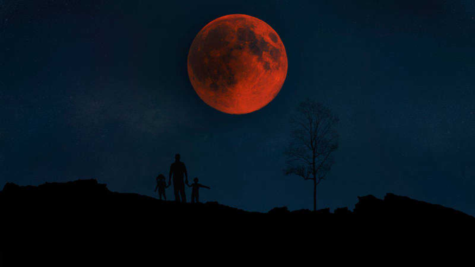 Para observar mejor el eclipse total de Luna, hay que hacerlo en zonas altas y alejadas de la contaminación lumínica.