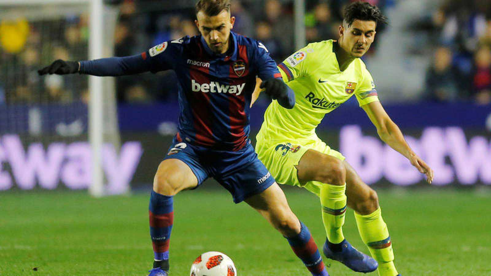El Comité de Apelación desestima el recurso del Levante por alineación indebida del Barcelona