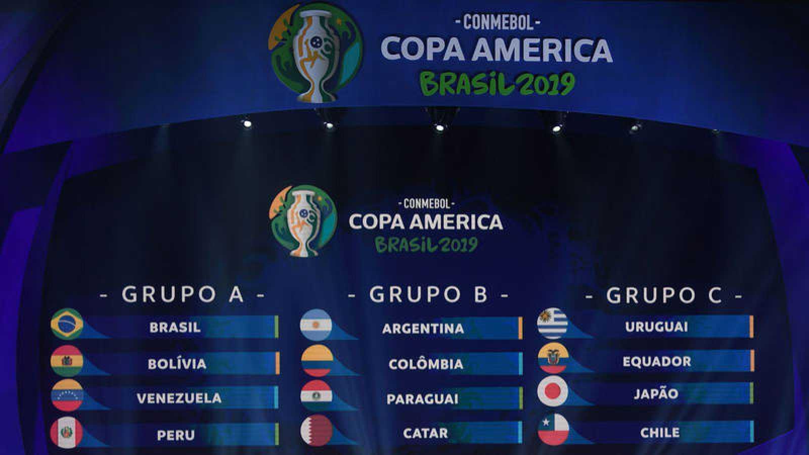 Brasil queda encuadrada en el grupo más débil y Argentina y Uruguay en los más fuertes