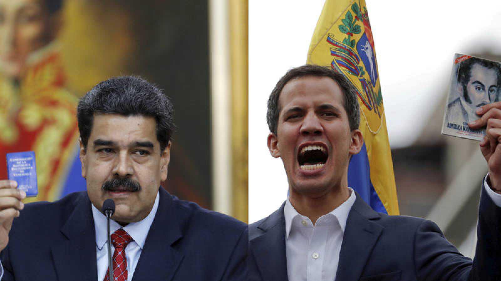 Nicolás Maduro y Juan Guaidó, el pulso por el control de Venezuela