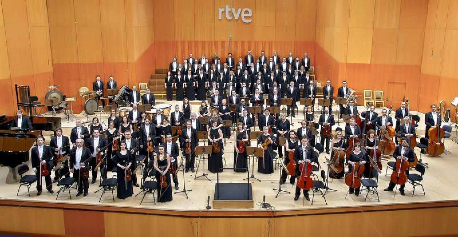 Orquesta Sinfónica y Coro RTVE en el Teatro Monumental