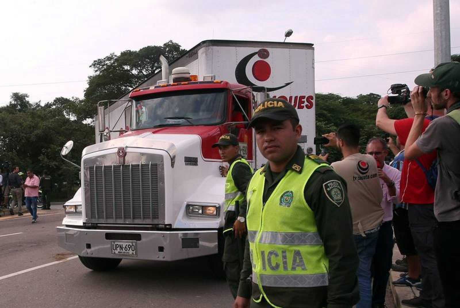 Llega a Cúcuta primera parte de ayuda humanitaria para entregar en Venezuela