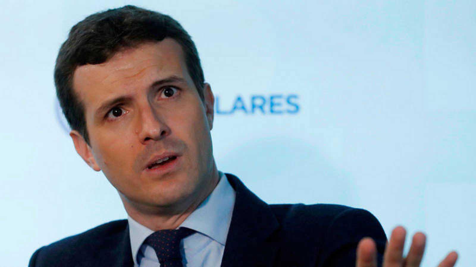 """El PP ha convocado una manifestación el domingo para """"frenar"""" a Sánchez"""