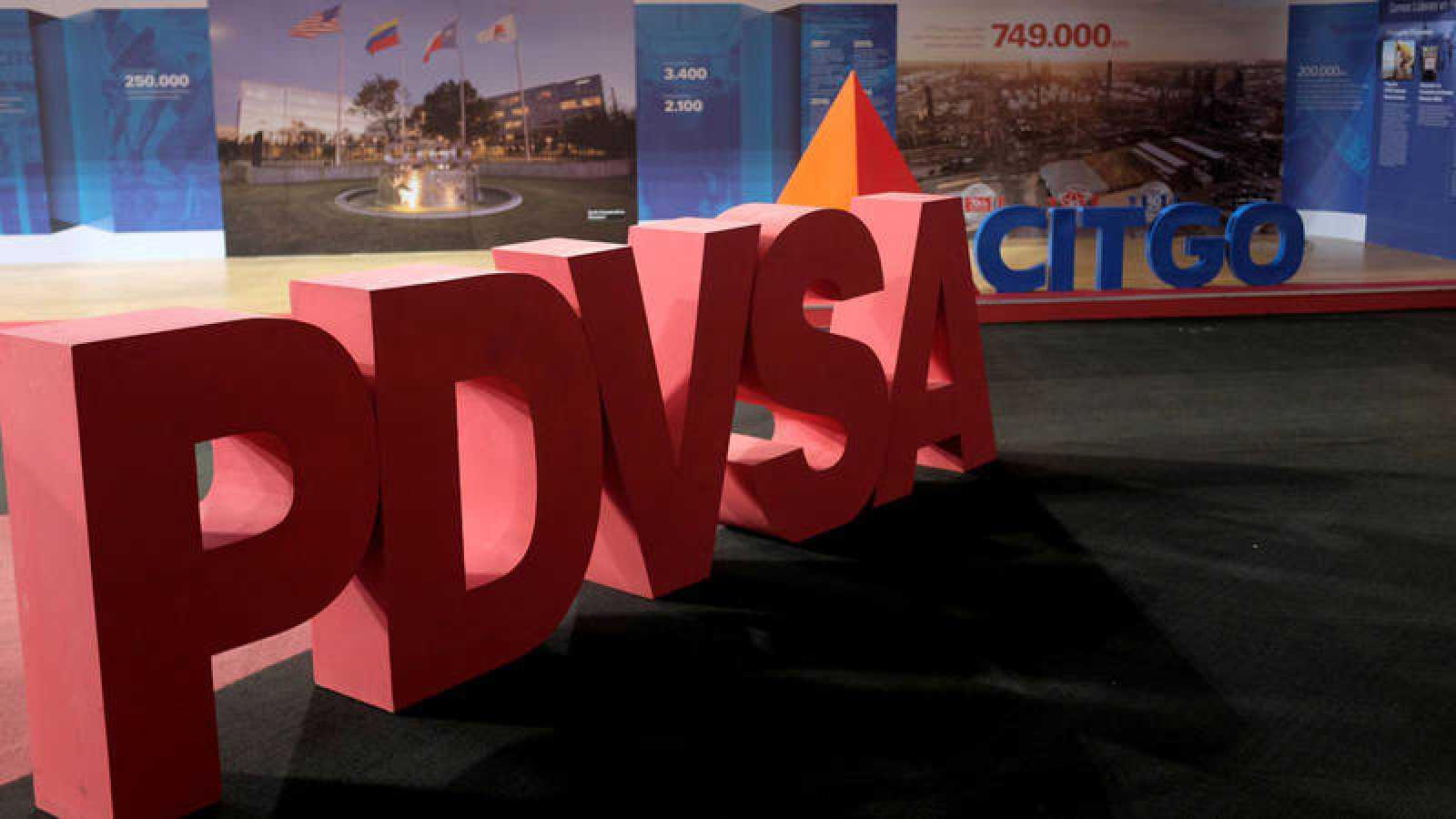 Logos de la petrolera venezolana PDVSA y su filial de EE.UU. b442c994ce2