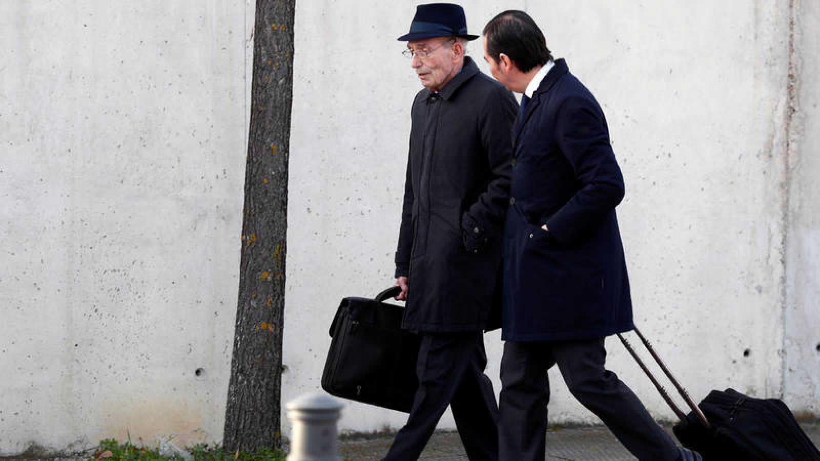 El exconsejero de Bankia, José Manuel Fernández Norniella, a su llegada al juicio