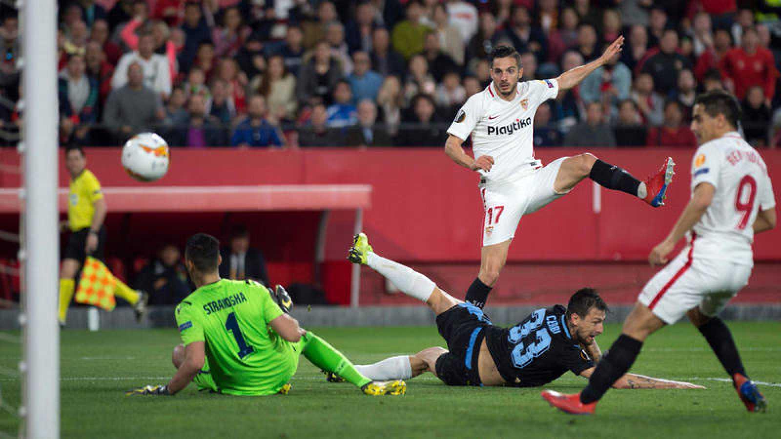 Pablo Sarabia anota el segundo gol de su equipo