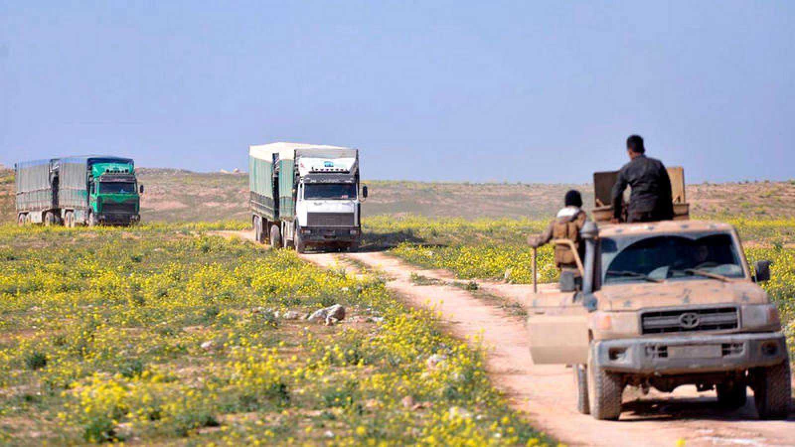 Más de 2.500 personas abandonan el último reducto del Estado Islámico en Siria