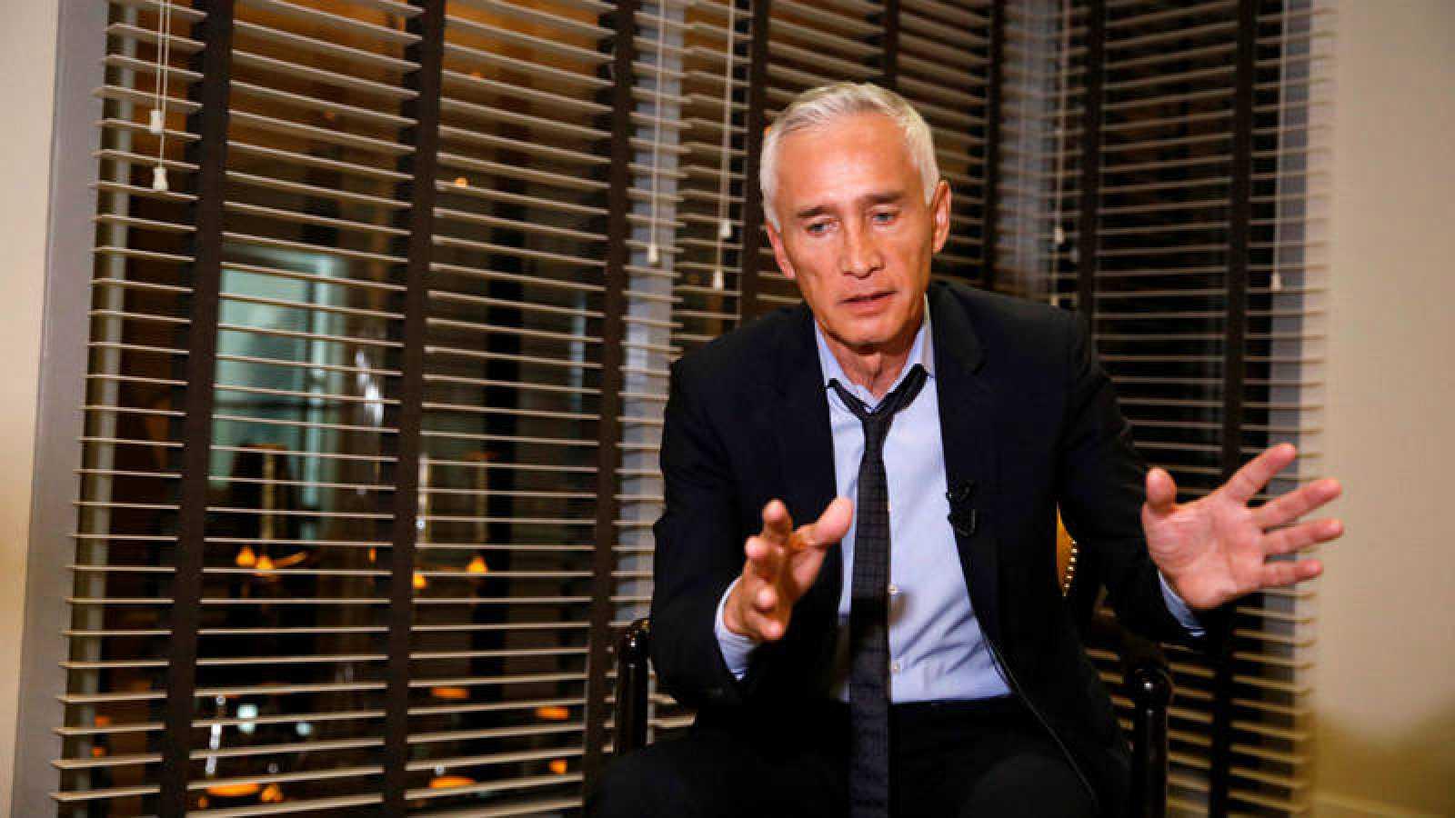 El periodista de la televisión Univisión Jorge Ramos
