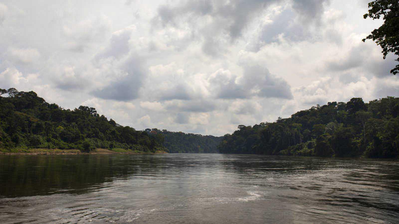El río Cross, a su paso por Abgokim, en la frontera entre Nigeria y Camerún