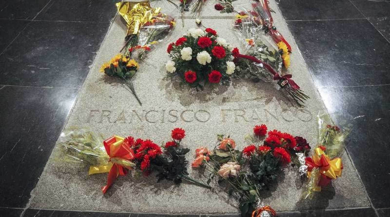 Tumba de Francisco Franco en el Valle de los Caídos, en una imagen de septiembre de 2018.