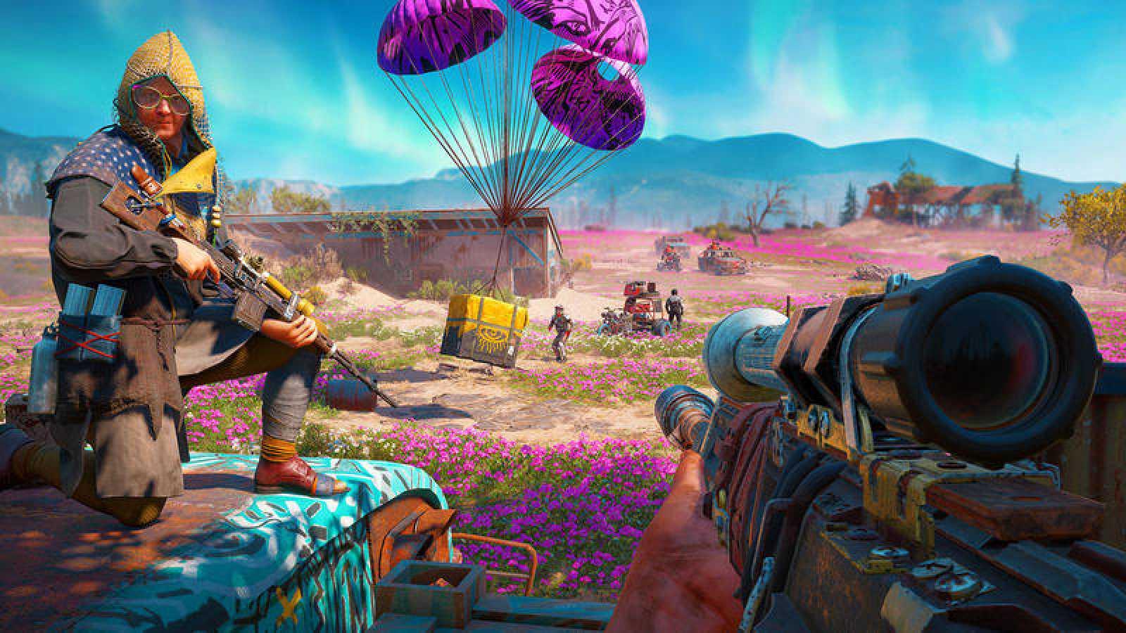 Captura de una partida del nuevo 'Far Cry: New Dawn' de Ubisoft