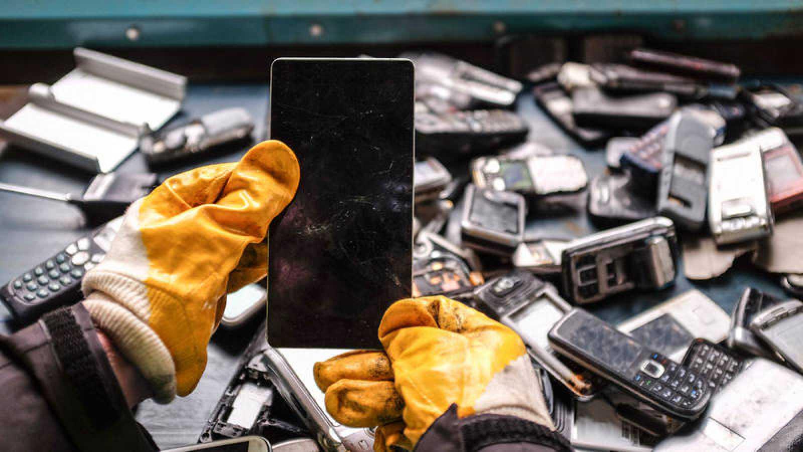 España es el quinto país de la Unión Europea que más basura electrónica genera
