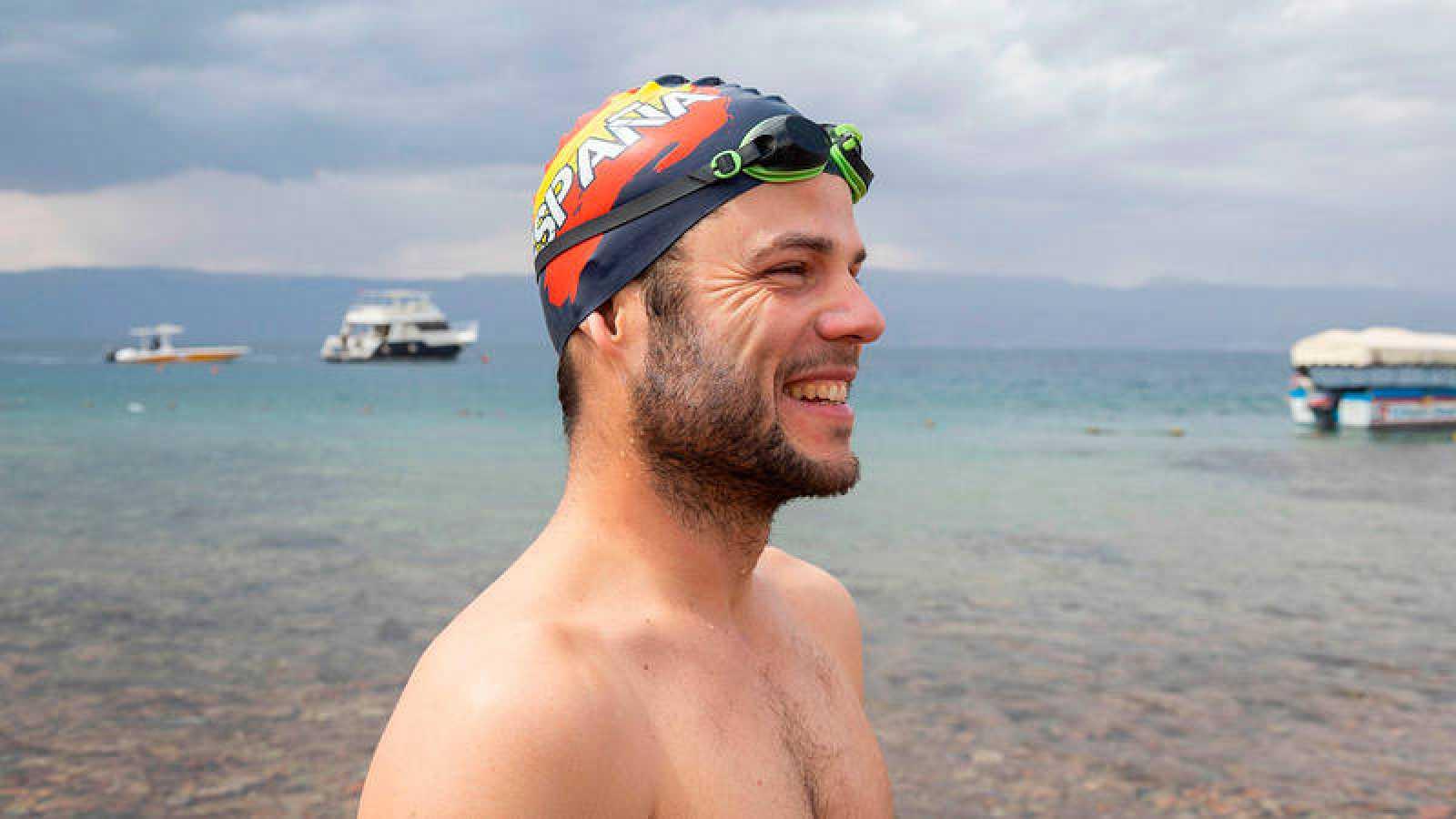 Nacho Dean, tras completar la Expedición Nemo.