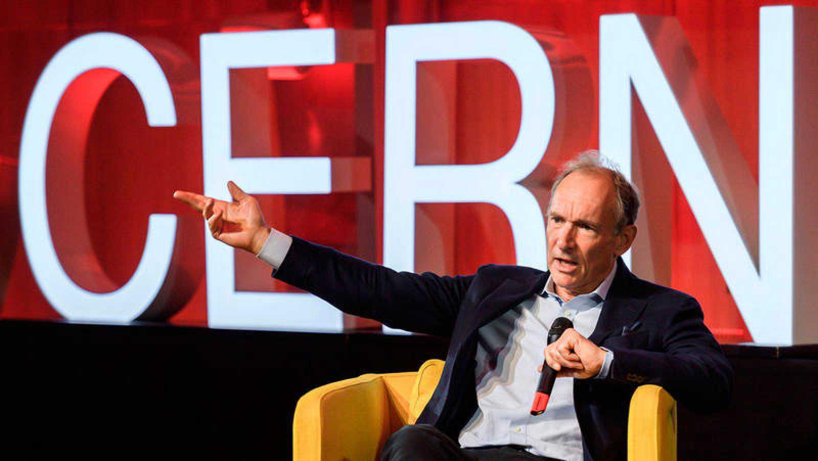 Tim Berners-Lee, durante la celebración del 30º aniversario de la Web.