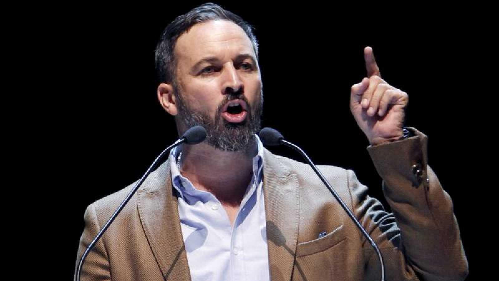 El presidente de Vox, Santiago Abascal, en una imagen de archivo.