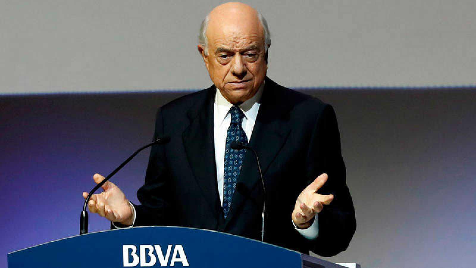 Francisco González, expresidente del BBVA, en una imagen de archivo