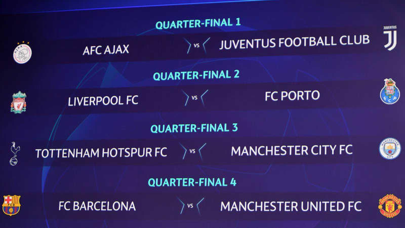 El Barça se medirá al Manchester United en cuartos de Champions