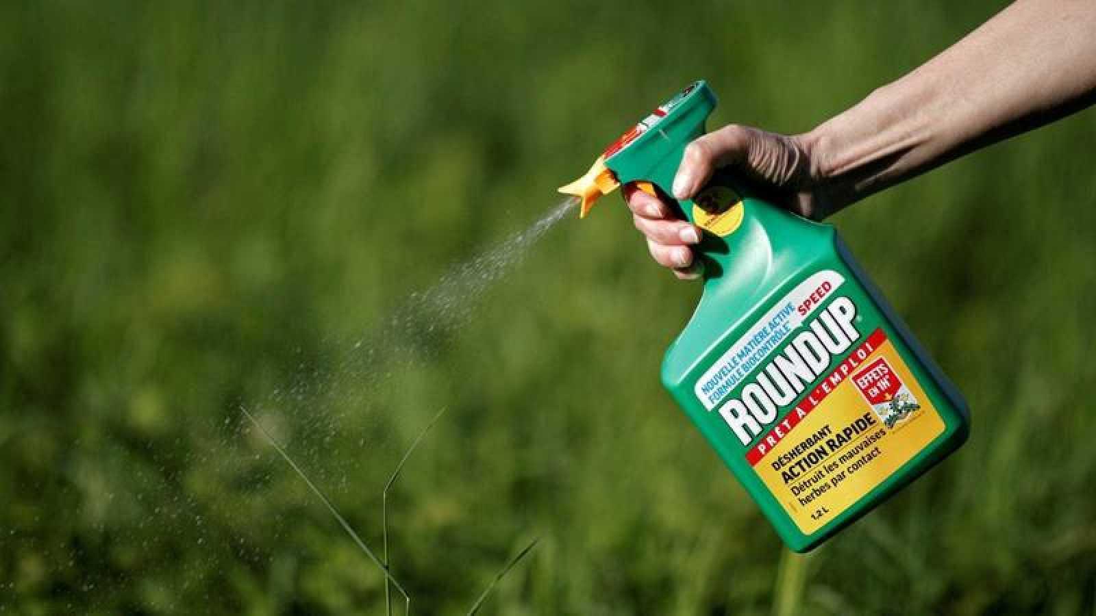 Imagen del herbicida de Monsanto que se comercializa como Roundup
