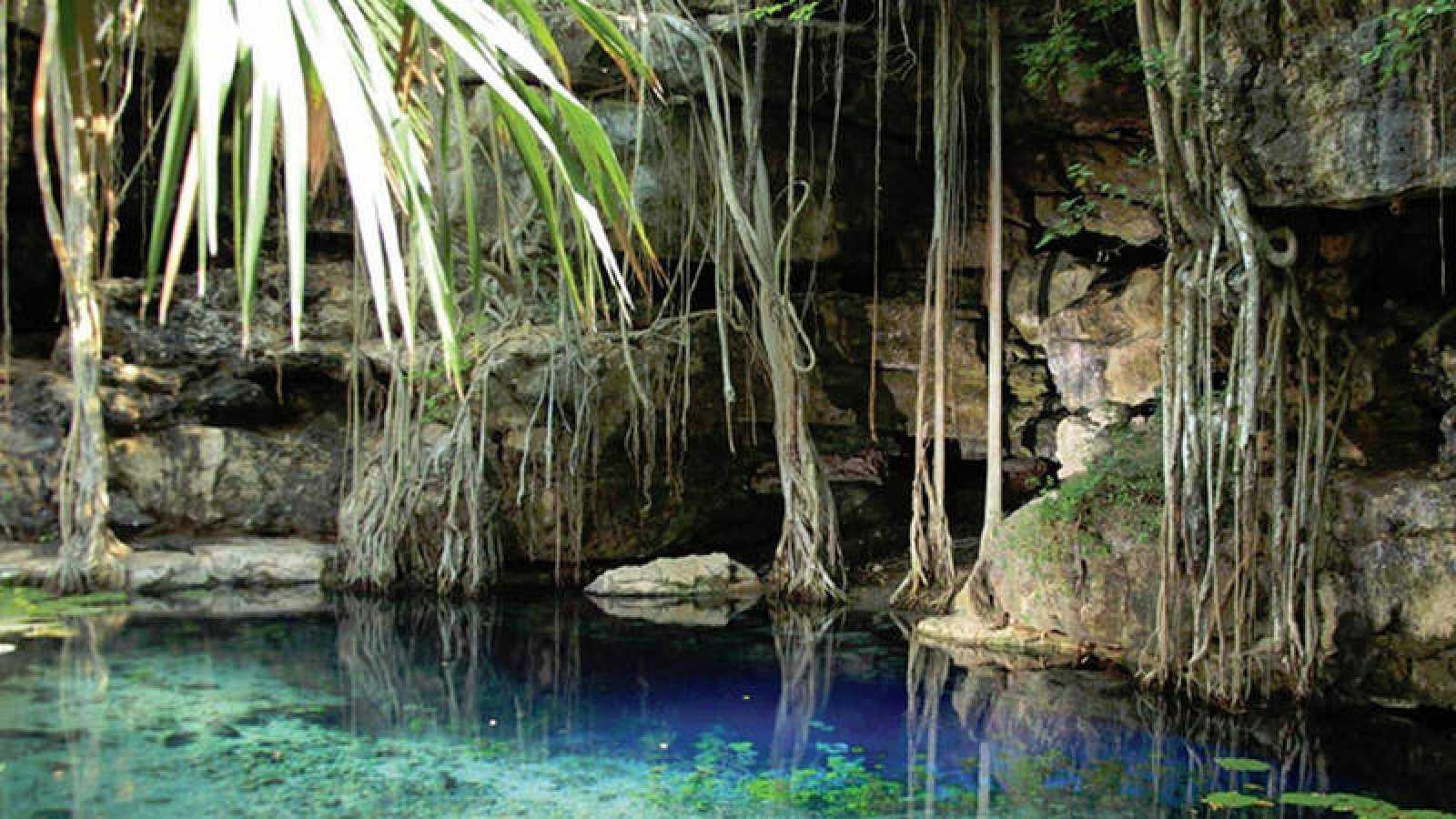 X'baatún significa, en lengua maya, 'lugar donde se recoge el agua'.