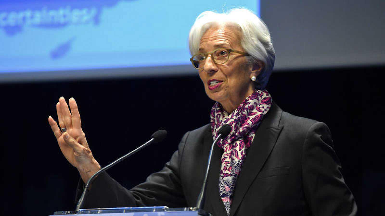 Imagen de archivo de la directora gerente delFondo Monetario Internacional, Christine Lagarde