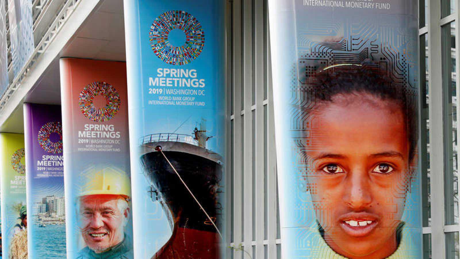 Reunión de primavera del FMI en Washington