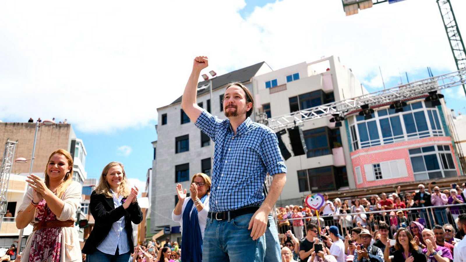 """Resultado de imagen para Pablo Iglesias apuesta por retomar el control de los recursos públicos como un acto de """"patriotismo"""""""