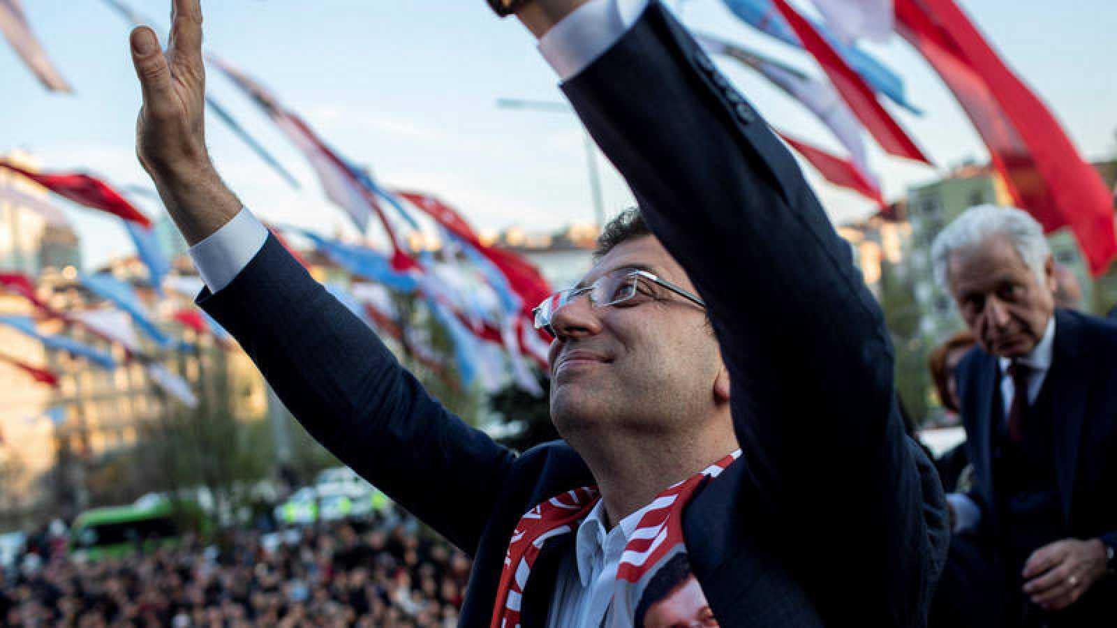 El nuevo alcalde electo de Estambul, Ekrem Imamoglu.