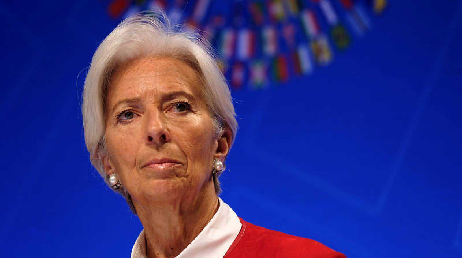 Imagen de archivo de la directora gerente delFondo Monetario Internacional (FMI),Christine Lagarde