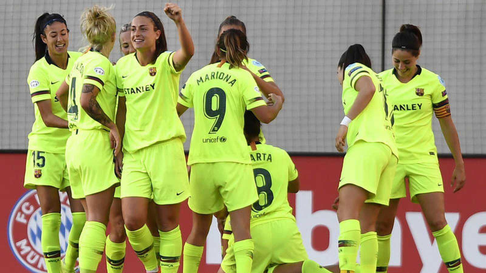 Bayern Munich vs FC Barcelona femenino.
