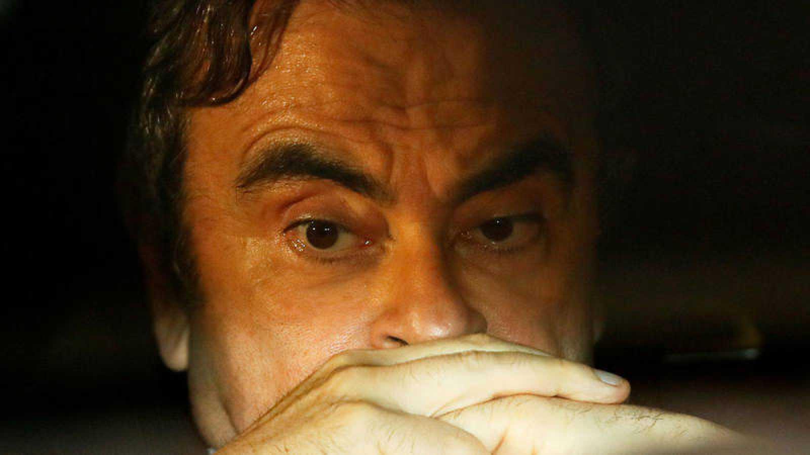 Carlos Ghosn en una imagen de archivo
