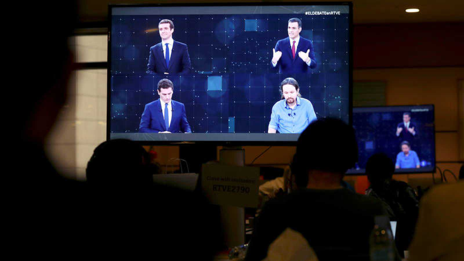 Debate electoral RTVE