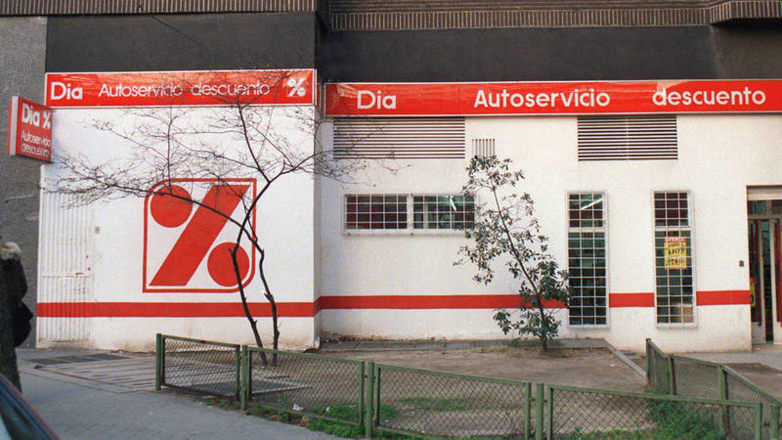 Un supermercado Dia en una imagen de archivo