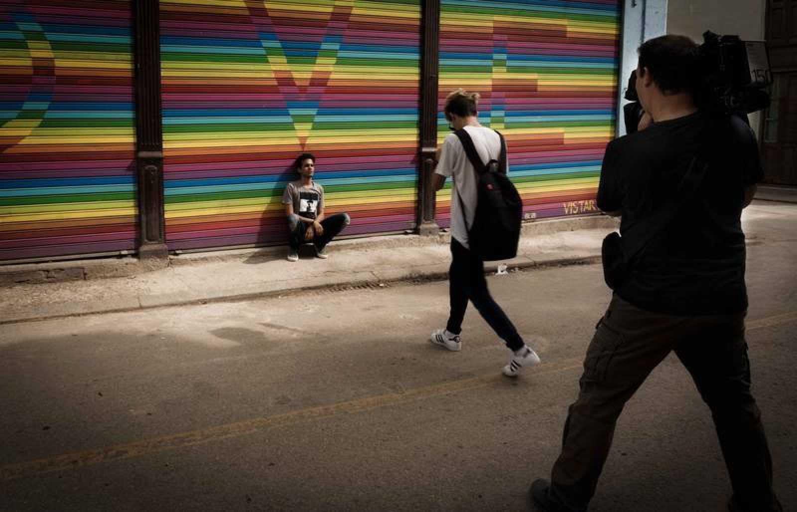 'En Portada' rodando en La Habana vieja