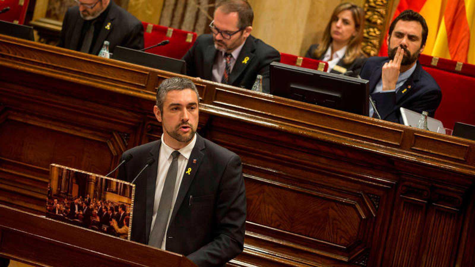 Bernat Soler, alcalde de Agramunt (Lleida) y diputado autonómico de ERC, en una imagen de archivo