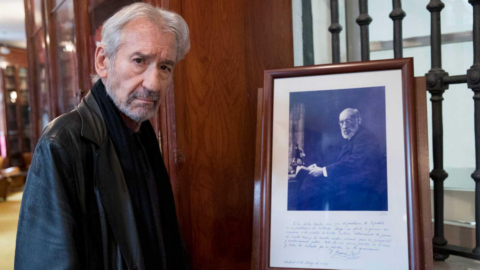 José Sacristán es el actor que encarna a Santiago Ramón y Cajal en Cartas en el Tiempo