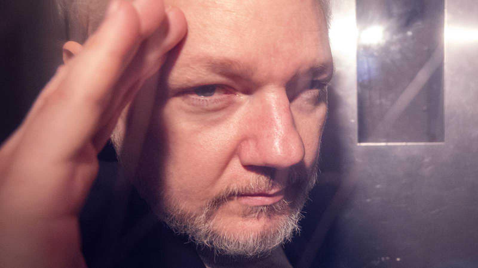 Imagen del fundador de Wikileaks, Julian Assange
