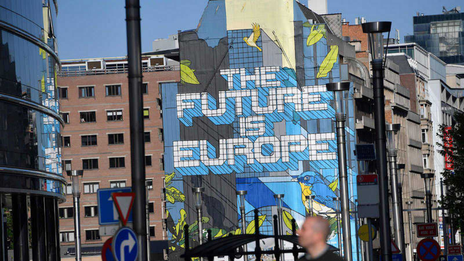 Un mural en Bruselas