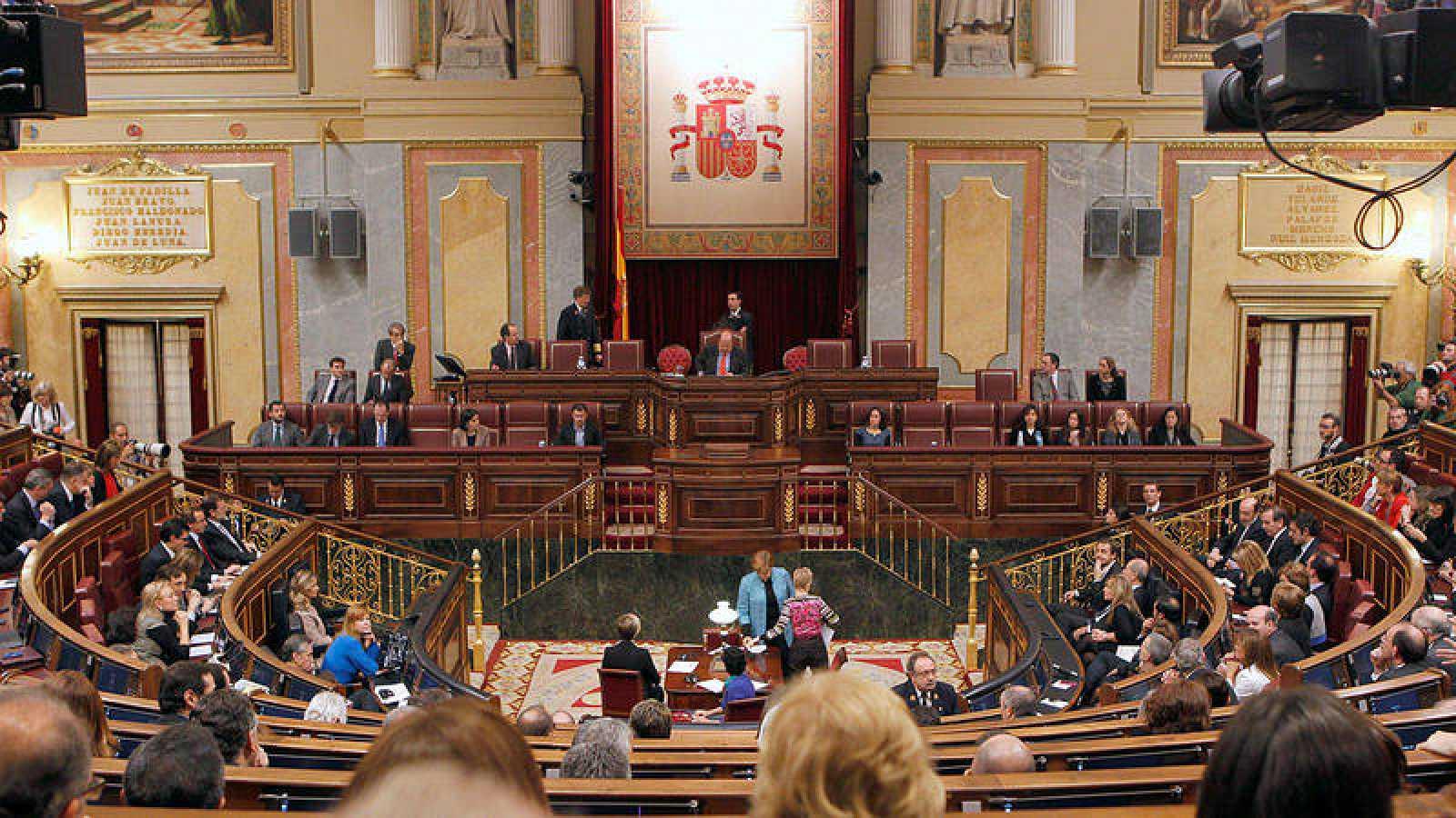 Imagen de archivo de la Mesa del Congreso de los Diputados.