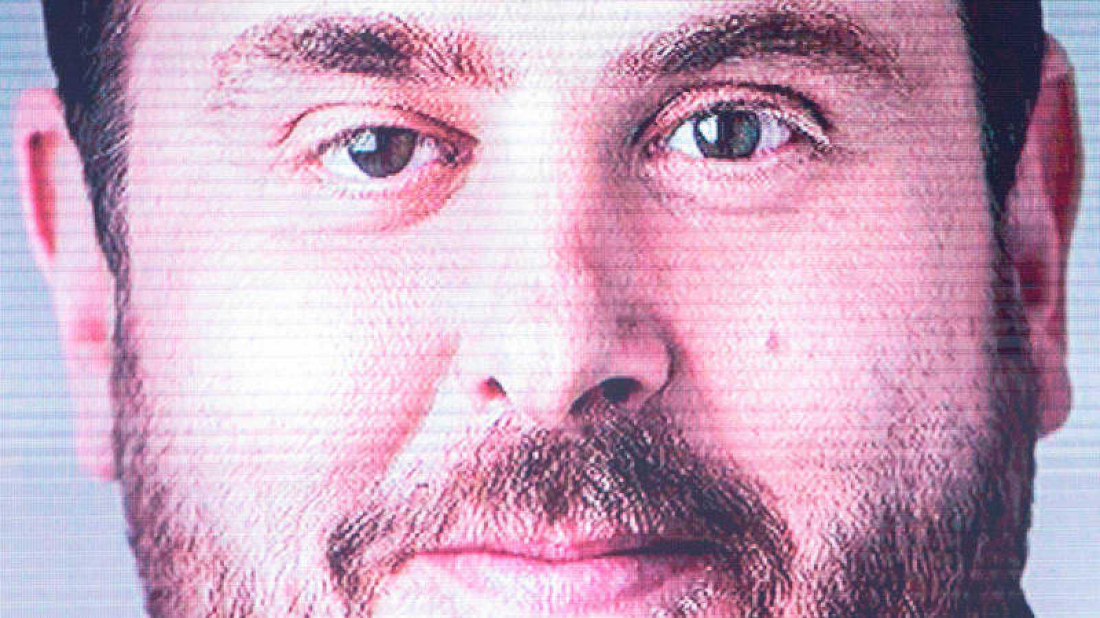 Imagen de un cartel de la candidatura del líder de ERC, Oriol Junqueras, a las elecciones del 26M.