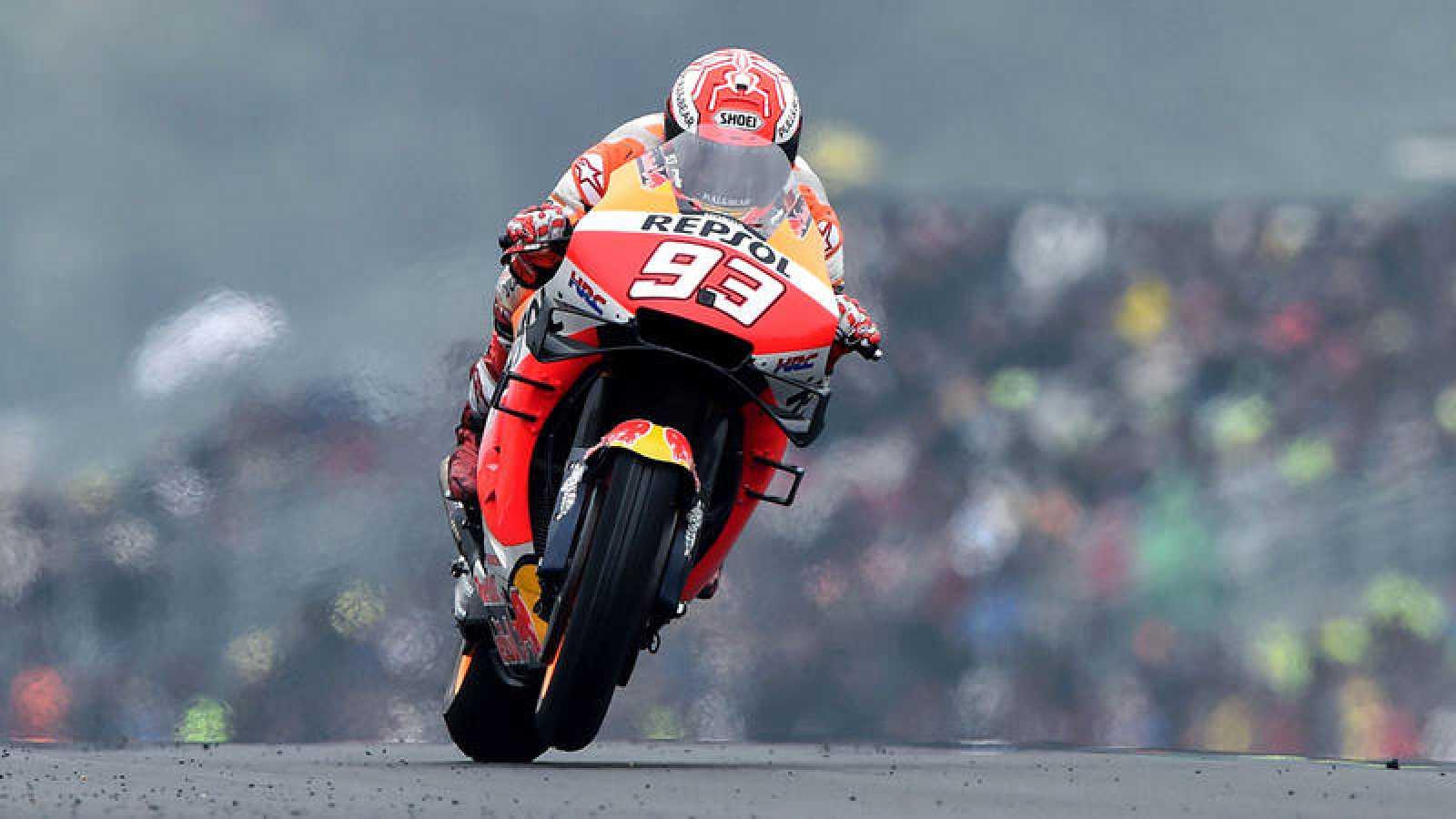 Marc Márquez logra la pole en el circuito de Le Mans