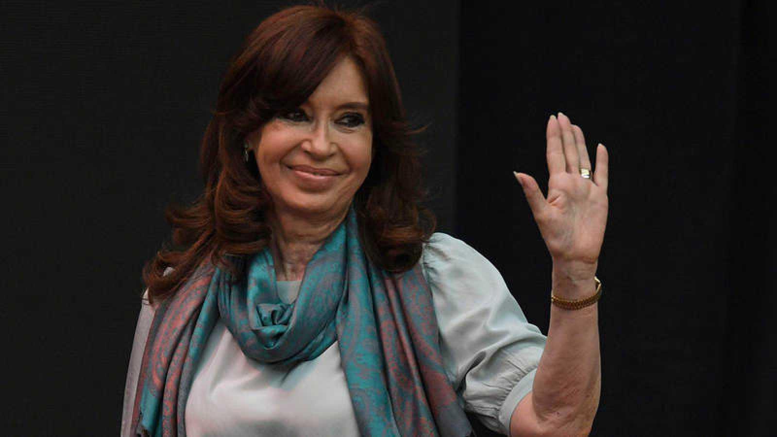 Cristina Fernández en una foto tomada el 19 de noviembre de 2018