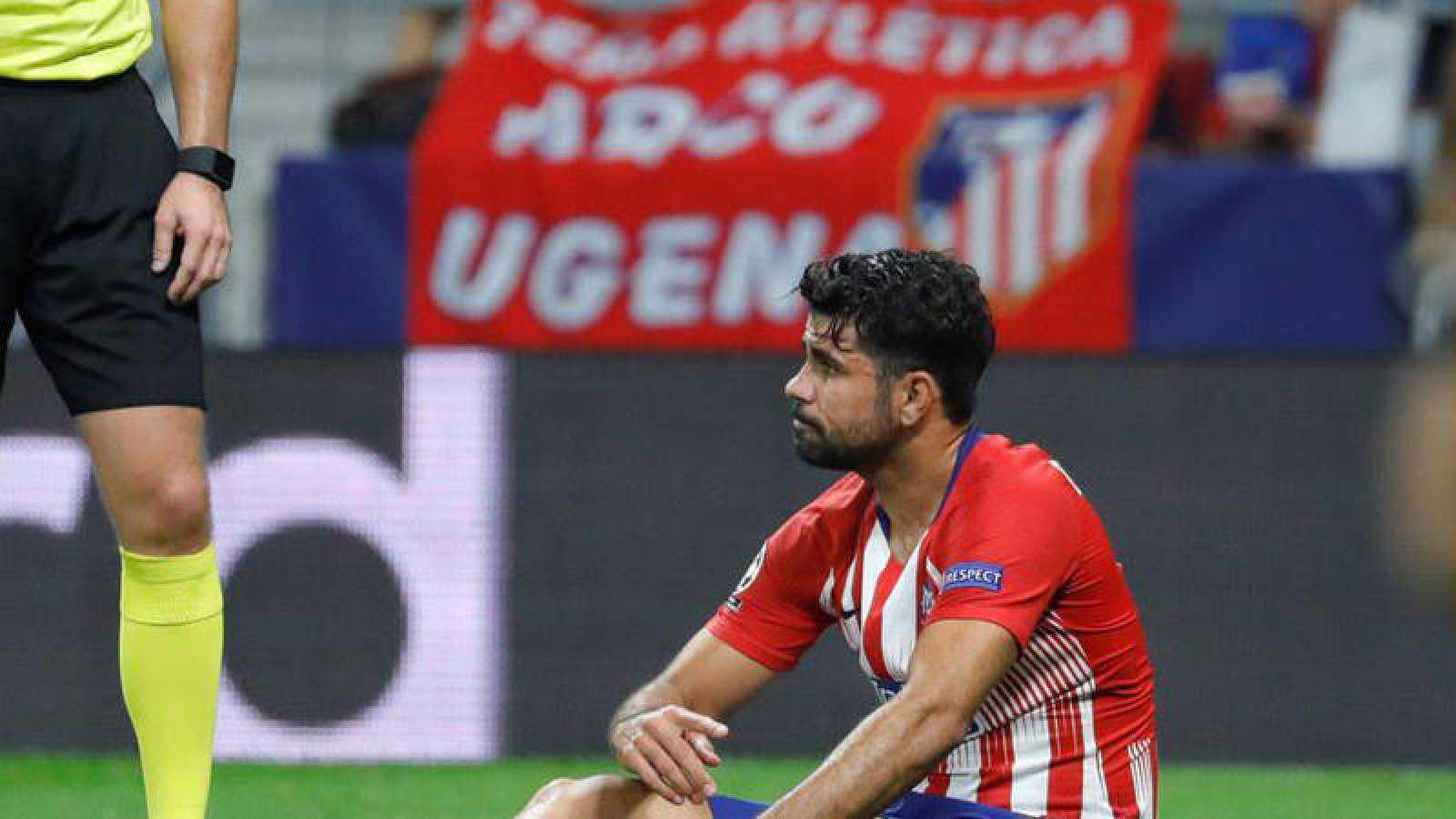 """Diego Costa sufre """"un esguince de tobillo de alto grado"""""""