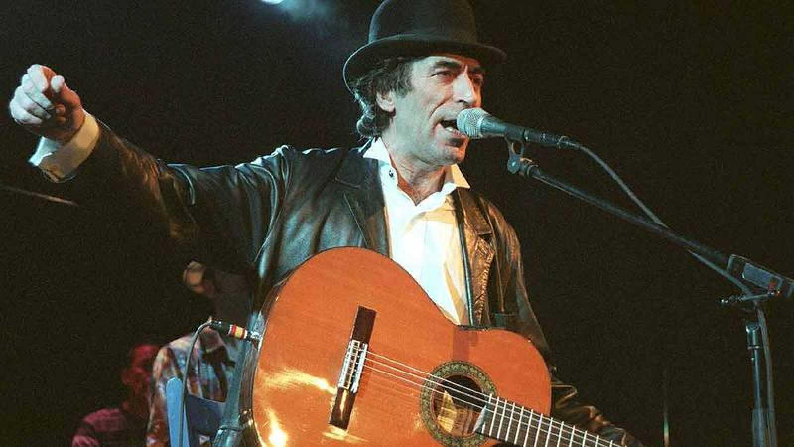 Joaquín Sabina, durante la presentación de '19 días y 500 noches'