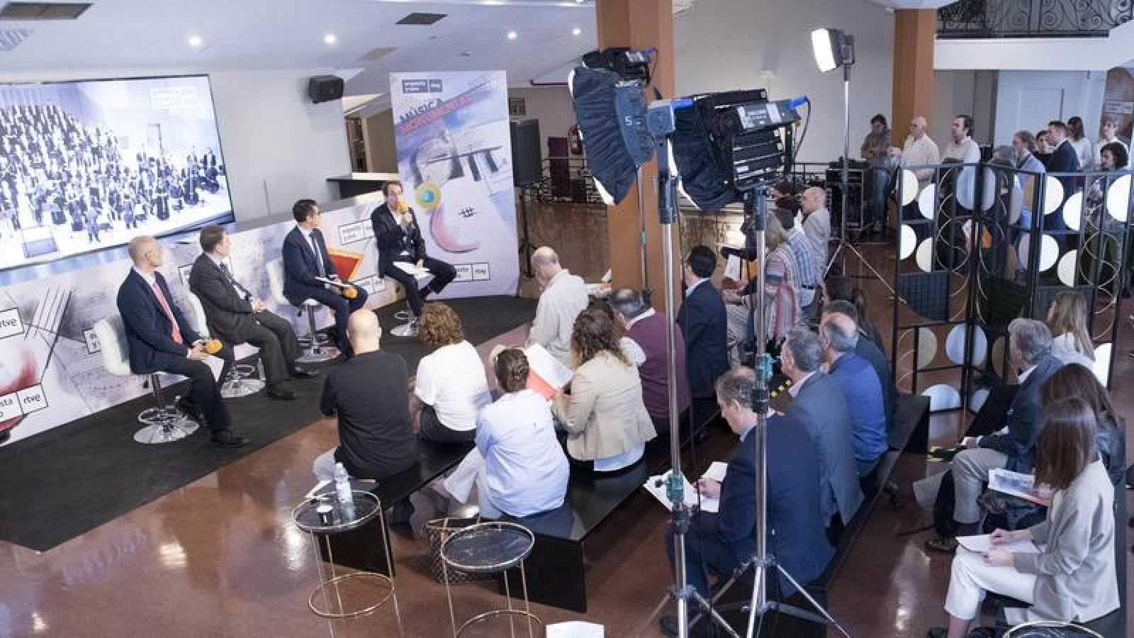 Rueda de prensa de la presentación de la temporada de la Orquesta y Coro RTVE