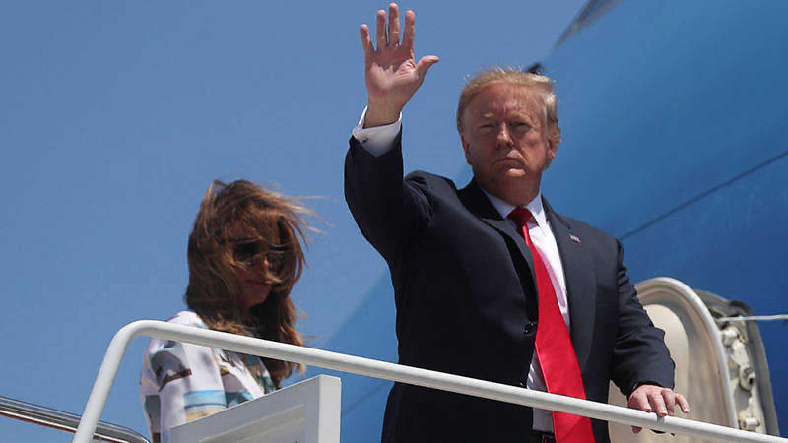 Trump ha anunciado el envío de tropas estadounidenses a Irán